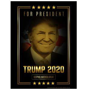Donald Trump 2020 Wholesale Campaign Posters