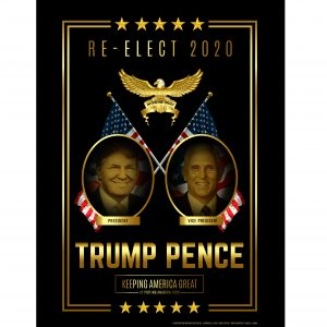 Trump Pence Campaign Poster