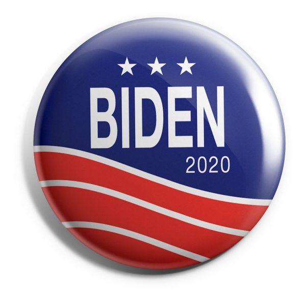 Patriotic Biden Button